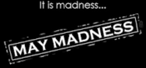 May Madness, Midweek special @ 20 % discount