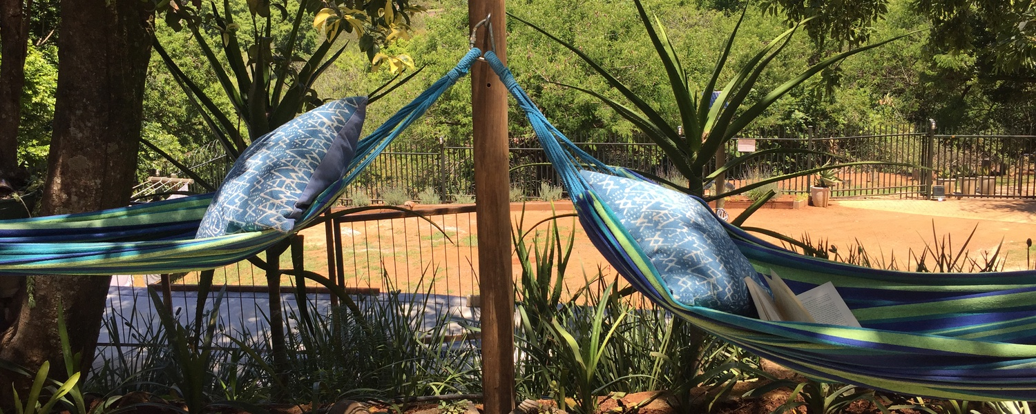 Relaxing Accommodation in the heart of Sabie.  Fully Service Self Catering Apartments.  A place to chill