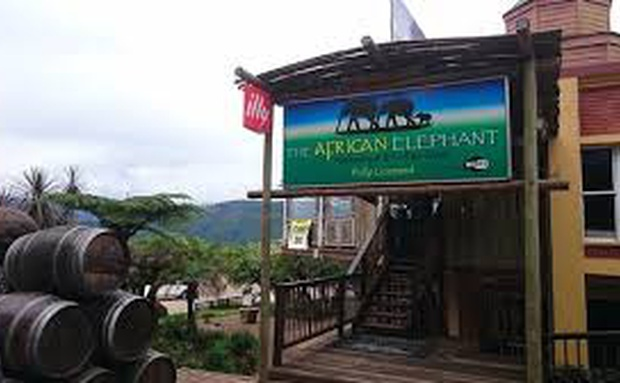 African Elephant Restaurant easy walking distance from Sabie Self Catering Apartments